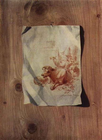 Trompe L'oeil By Henry Fuseli  By Henry Fuseli