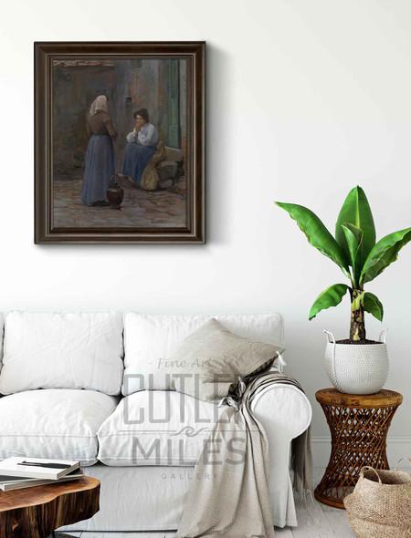 Two Women By Elin Kleopatra Danielson Gambogi By Elin Kleopatra Danielson Gambogi
