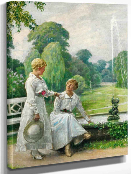 Untitled By Paul Gustave Fischer By Paul Gustave Fischer