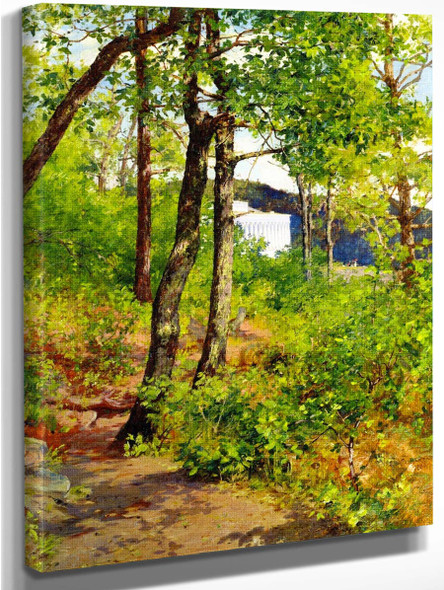 View Of The Catskill Mountain House By Walter Launt Palmer