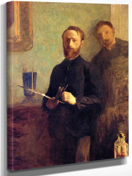 Vuillard And Waroquy By Edouard Vuillard