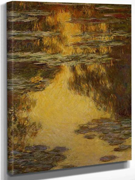Water Lilies33 By Claude Oscar Monet