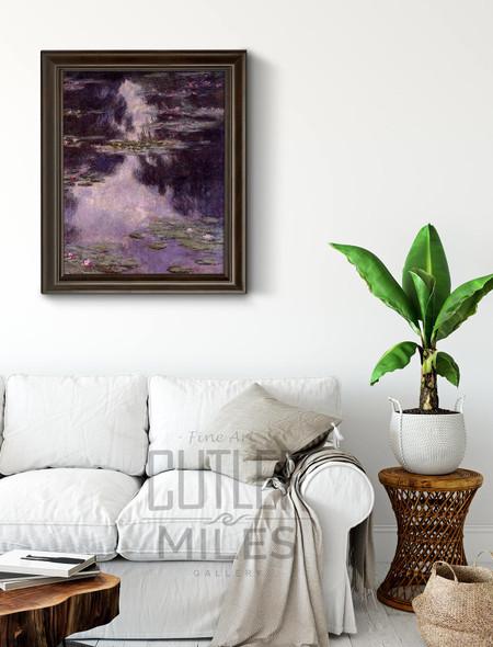 Water Lilies57 By Claude Oscar Monet