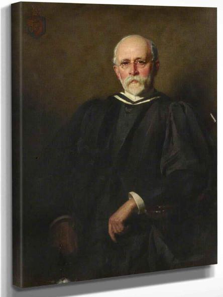 William Braginton As An Older Man By William Logsdail