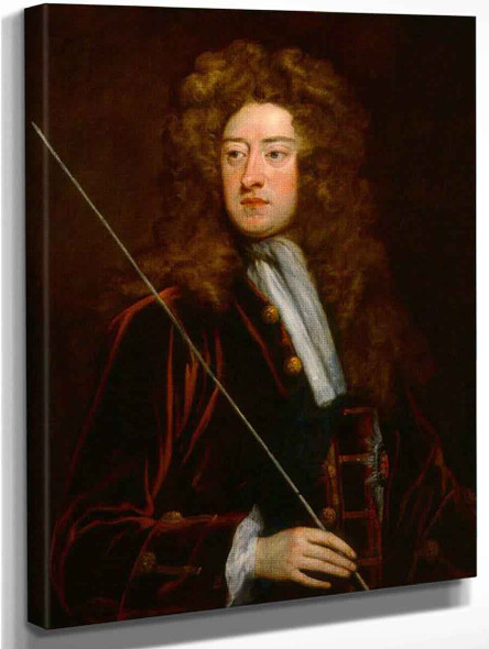 William Cavendish, 2Nd Duke Of Devonshire By Sir Godfrey Kneller, Bt.  By Sir Godfrey Kneller, Bt.