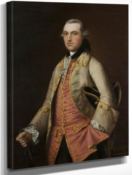 William Leyborne By Thomas Gainsborough