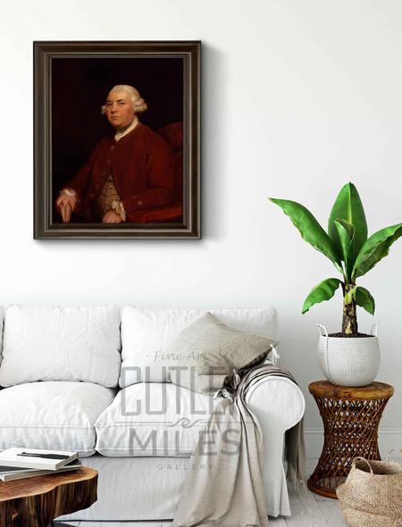 William Strahan By Sir Joshua Reynolds