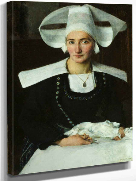 Woman From Brittany By Pascal Dagnan Bouveret