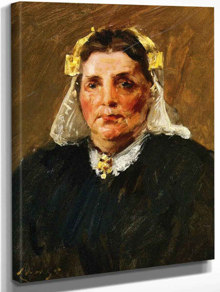 Woman Of Holland By William Merritt Chase