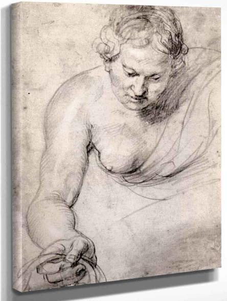 Woman By Peter Paul Rubens