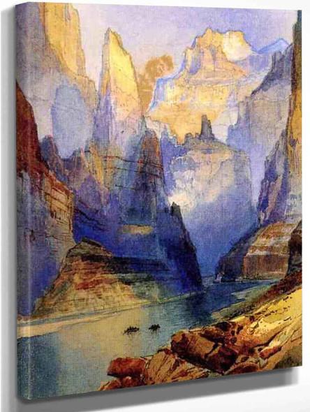 Zion Valley By Thomas Moran