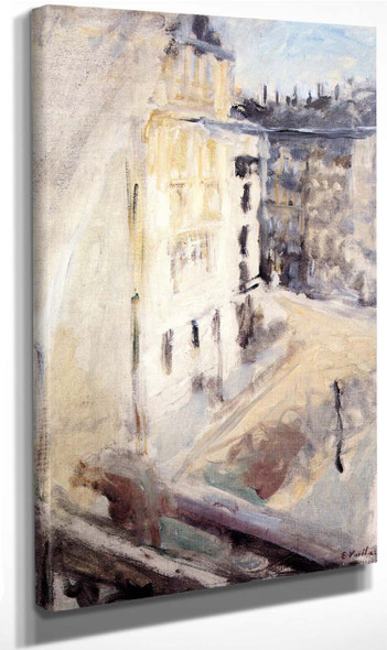 A Corner Of The Place Vintimille, View From The Artist's Window By Edouard Vuillard Art Reproduction