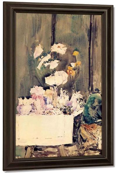 A Favorite Corner By Frederick Childe Hassam By Frederick Childe Hassam