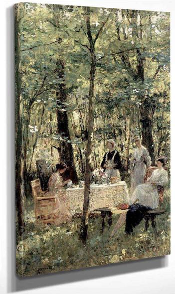 A Garden Party By Gari Melchers