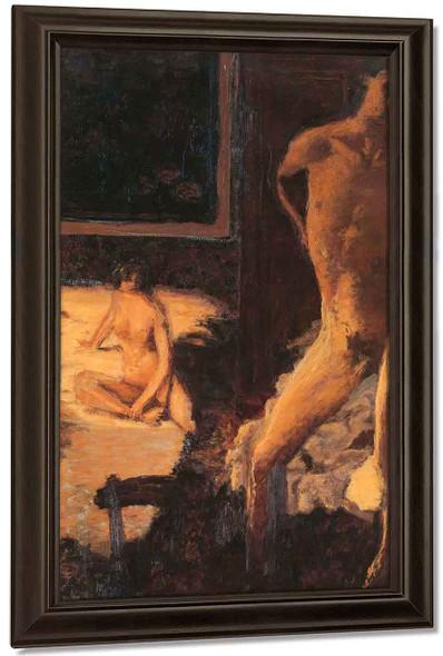 A Man And A Woman By Edouard Vuillard