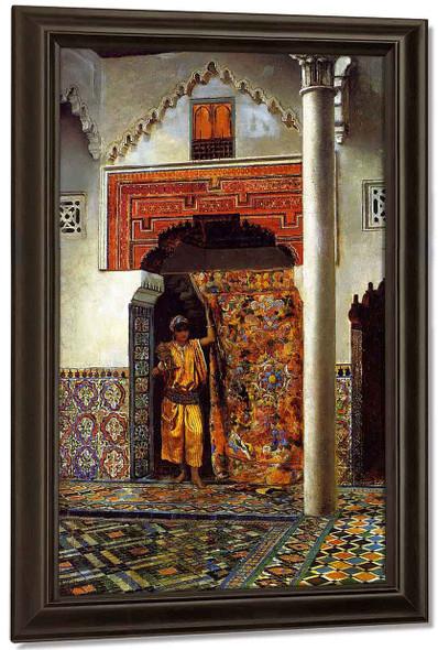 A Moorish Interior By Edwin Lord Weeks