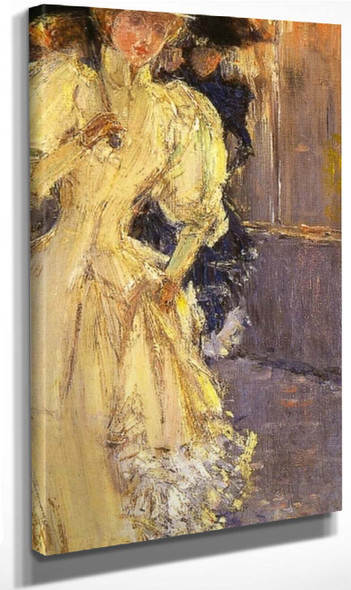 A Rainy Day, New York By Frederick Childe Hassam Art Reproduction