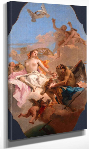 An Allegory With Venus And Time By Giovanni Battista Tiepolo