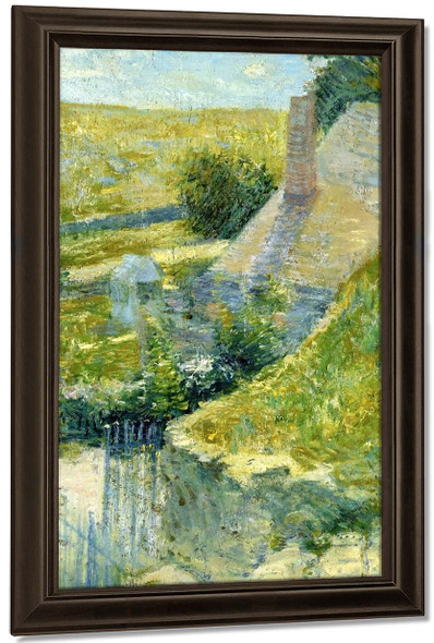 Artist's Home Seen From The Back By John Twachtman