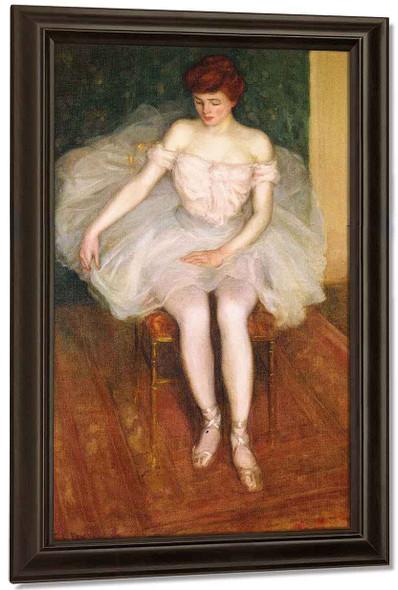 Ballerina 1 By Frederick Carl Frieseke By Frederick Carl Frieseke