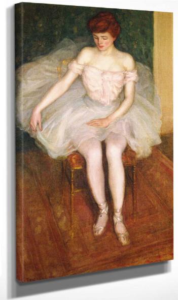 Ballerina By Frederick Carl Frieseke By Frederick Carl Frieseke
