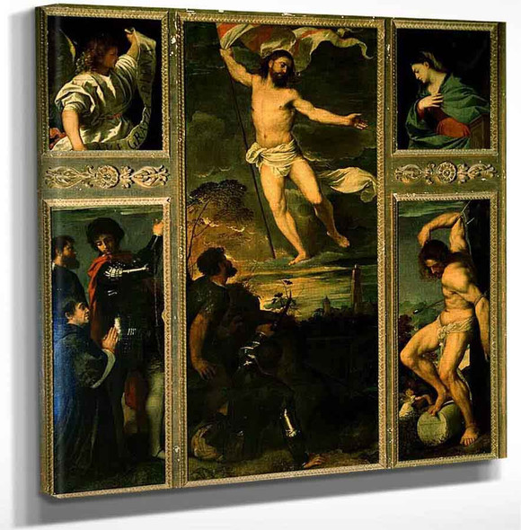 3 By Titian Art Reproduction