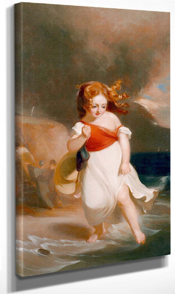 Child On The Sea Side By Thomas Sully