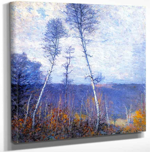 A Late Autumn Epic By Robert Vonnoh Art Reproduction