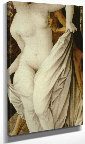 Death And A Woman By Hans Baldung Grien By Hans Baldung Grien