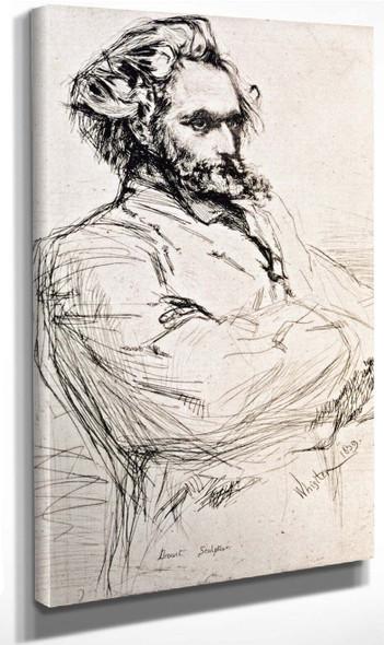 Drouet By James Abbott Mcneill Whistler American 1834 1903