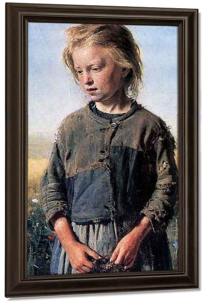 Fisher Girl. By Ilia Efimovich Repin By Ilia Efimovich Repin