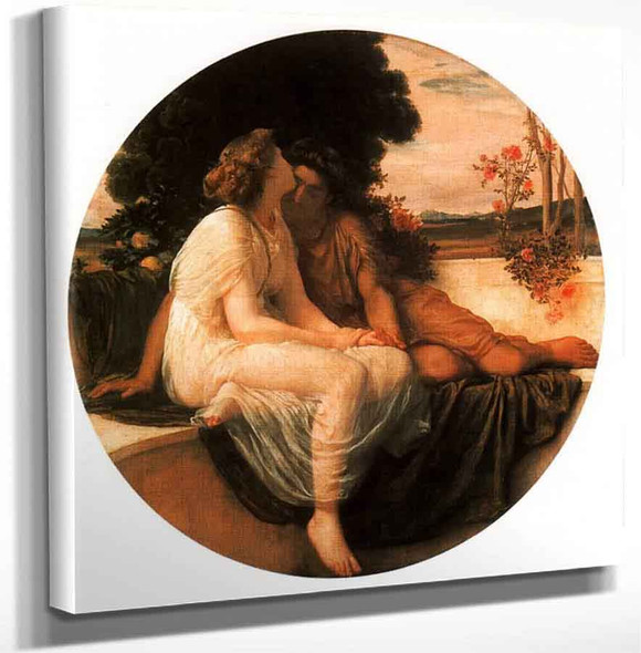 Acme And Septimius By Sir Frederic Lord Leighton Art Reproduction