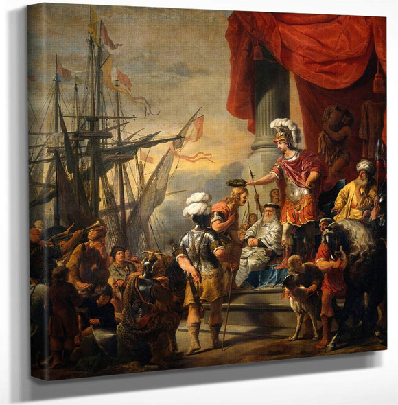 Aeneas At The Court Of Latinus By Ferdinand Bol Art Reproduction