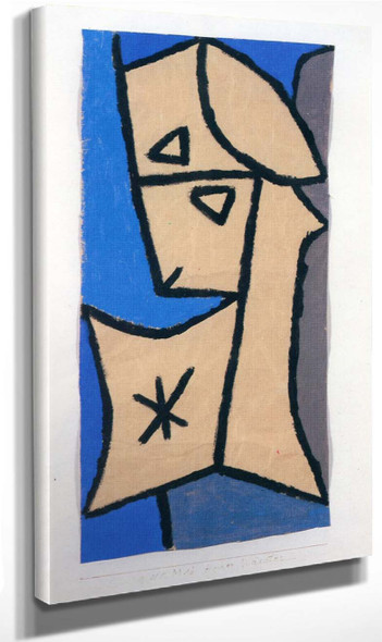 Hoher Wächter By Paul Klee(Swiss, 1879 1940) By Paul Klee(Swiss, 1879 1940) Art Reproduction