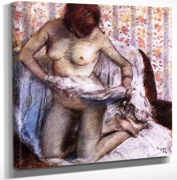 After The Bath8 By Edgar Degas Art Reproduction