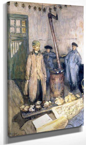 Interrogation Of The Prisoner By Edouard Vuillard