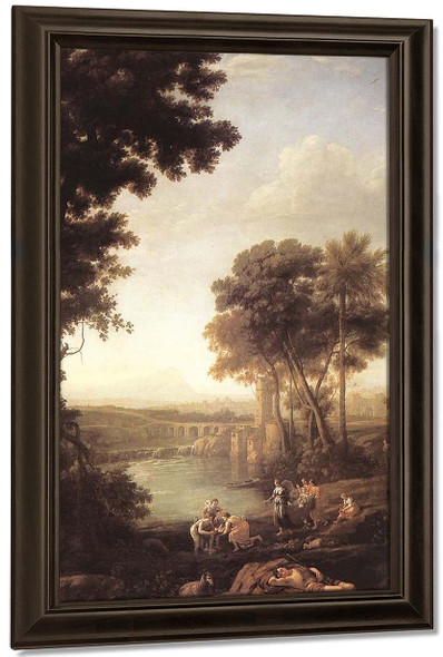 Landscape With The Finding Of Moses By Claude Lorrain By Claude Lorrain