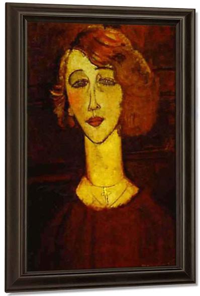 Lolotte By Amedeo Modigliani By Amedeo Modigliani