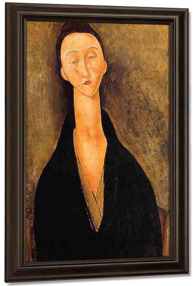 Lunia Czechowska2 By Amedeo Modigliani By Amedeo Modigliani