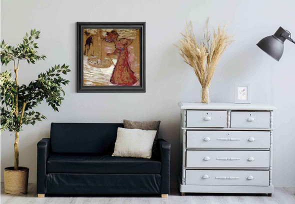 An Elegant Woman By Edouard Vuillard Art Reproduction