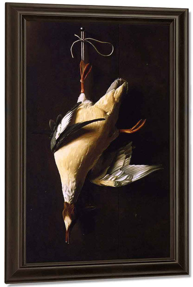 Merganser By William Michael Harnett By William Michael Harnett