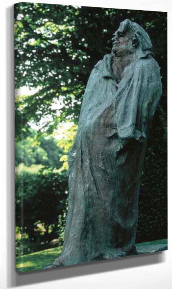 Monument To Balzac By Auguste Rodin