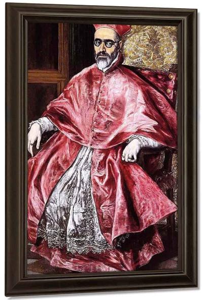Portrait Of A Cardinal By El Greco By El Greco