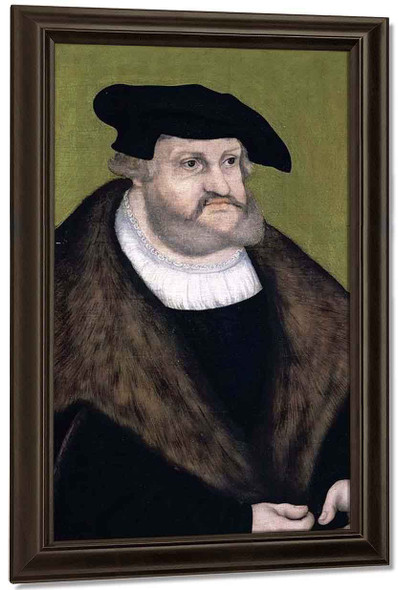 Portrait Of Elector Frederick The Wise In His Old Age By Lucas Cranach The Elder By Lucas Cranach The Elder