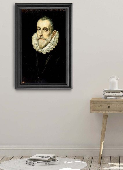 Portrait Of Rodrigo Vã¡Zquez By El Greco(Greek, 1541 1614) By El Greco(Greek, 1541 1614) Art Reproduction