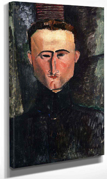 Portrait Of The Painter Rouveyre By Amedeo Modigliani By Amedeo Modigliani