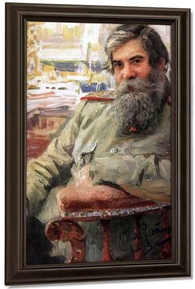 Portrait Of Vladimir Bekhterev. By Ilia Efimovich Repin By Ilia Efimovich Repin
