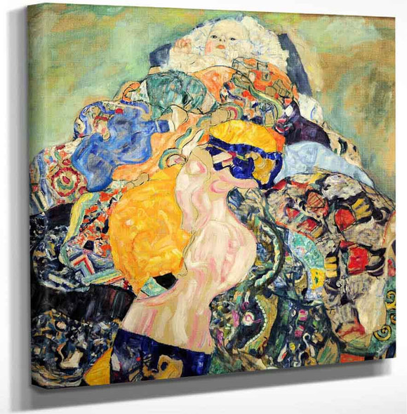 Baby By Gustav Klimt Art Reproduction