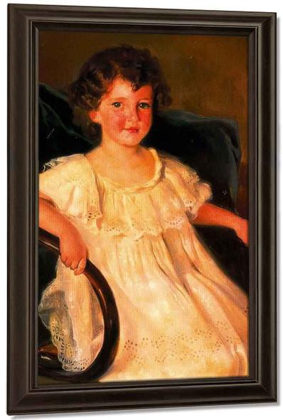 Retrato De Maria Del Pilar Pinies Y Roca De Togores By Jose Mongrell Torrent