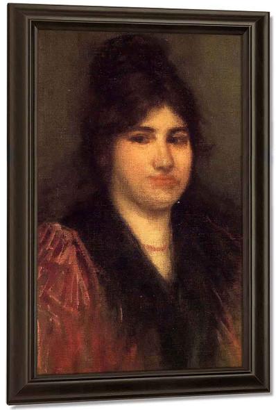 Rose By James Abbott Mcneill Whistler American 1834 1903